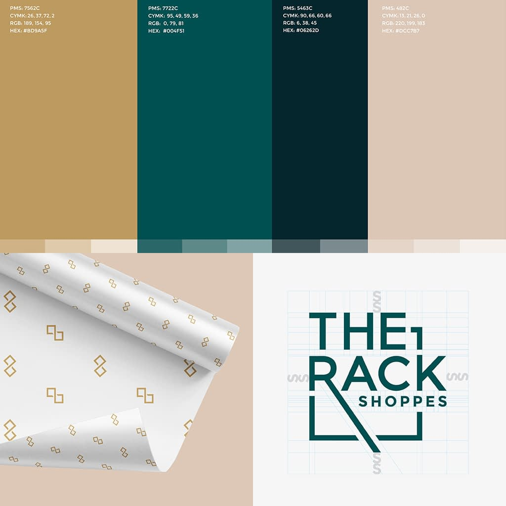 the rack branding