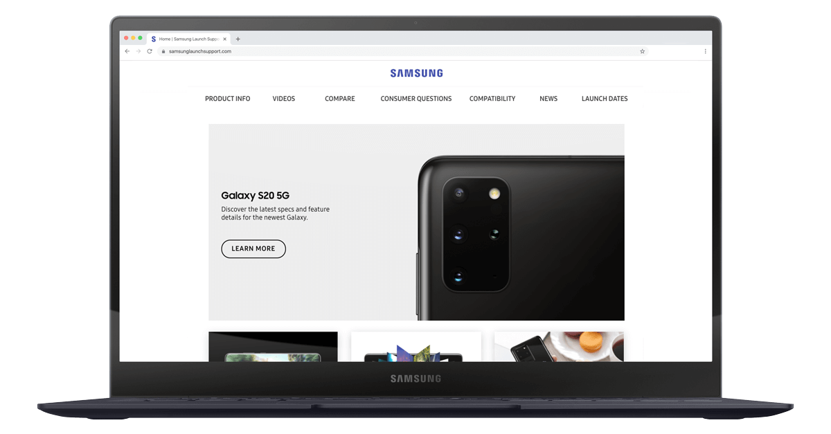 Samsung sales enablement