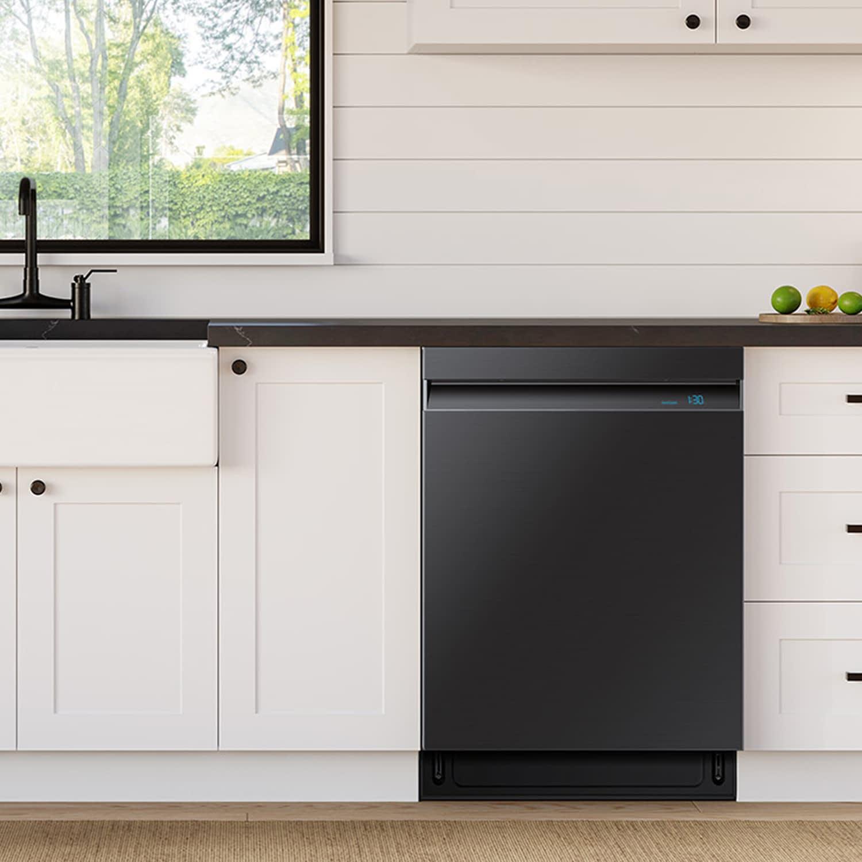 samsung dishwasher 3d renderings