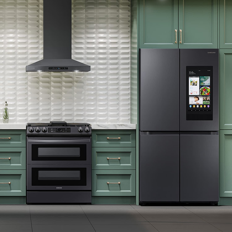 Samsung kitchen 3d renderings
