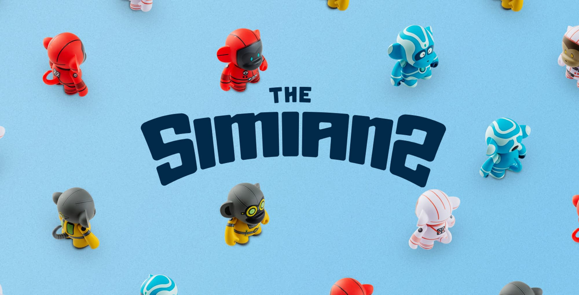 the simians branding