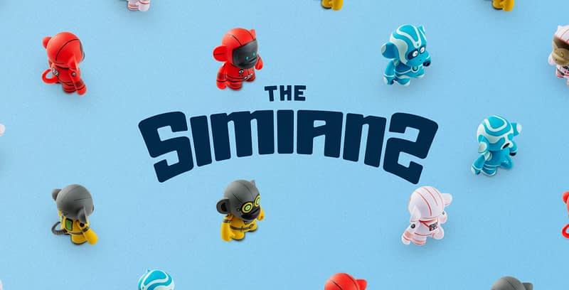 the simians branding