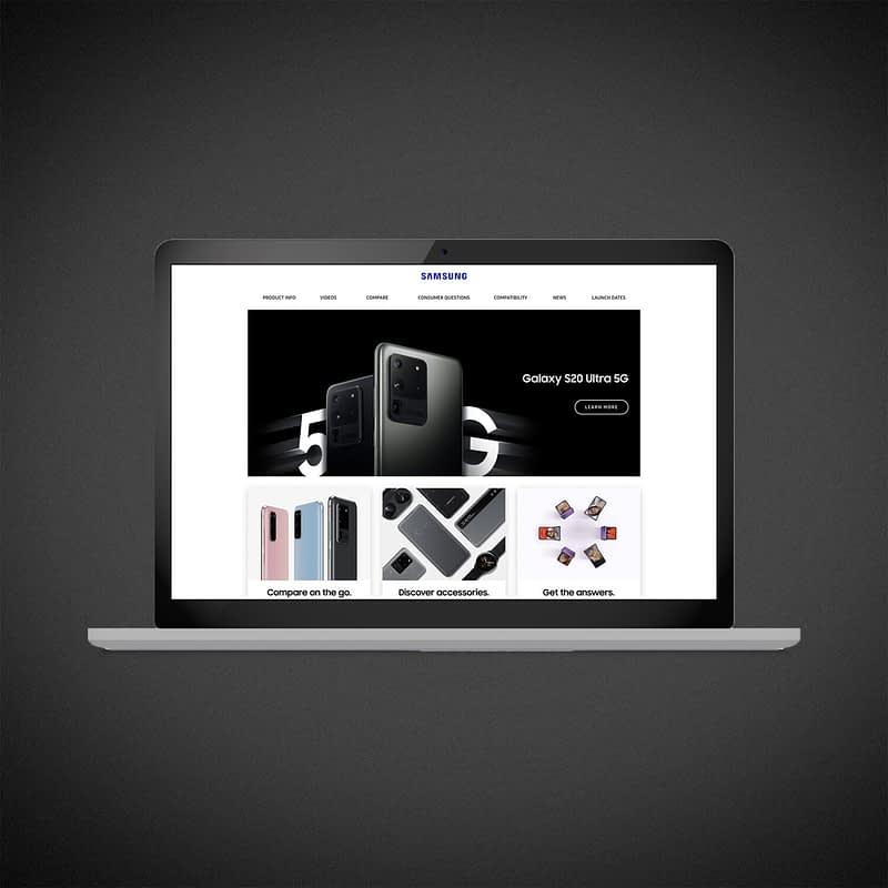 Samsung Launch Support Website
