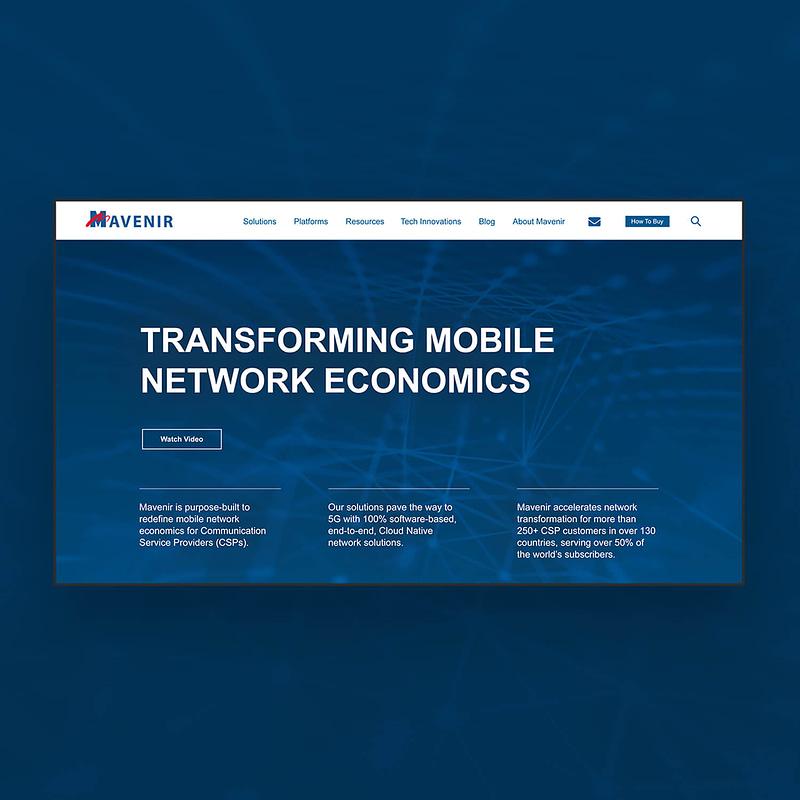Mavenir website