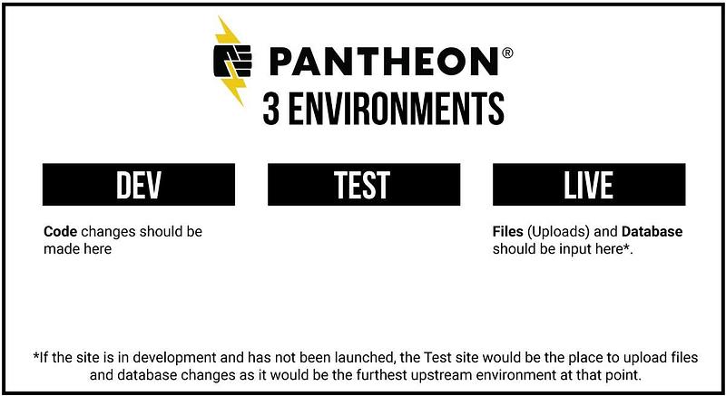 pantheon workflow environments